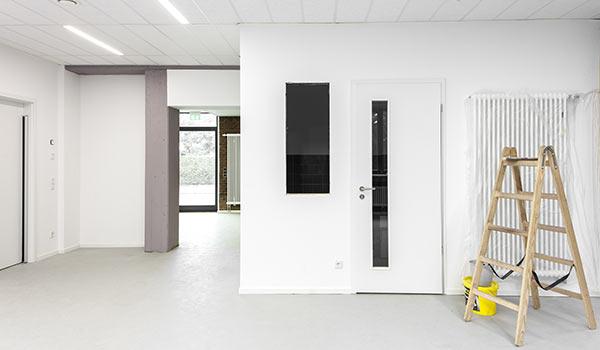 Büroraum Neu Gestrichen