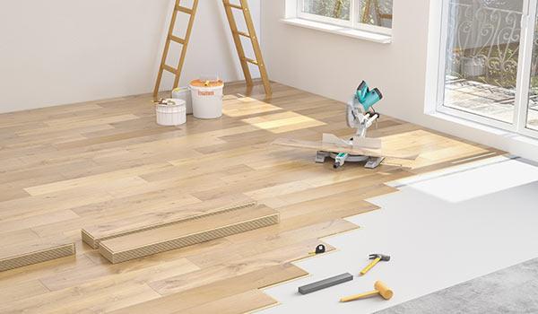 Neuer Bodenbelag für Wohnräume